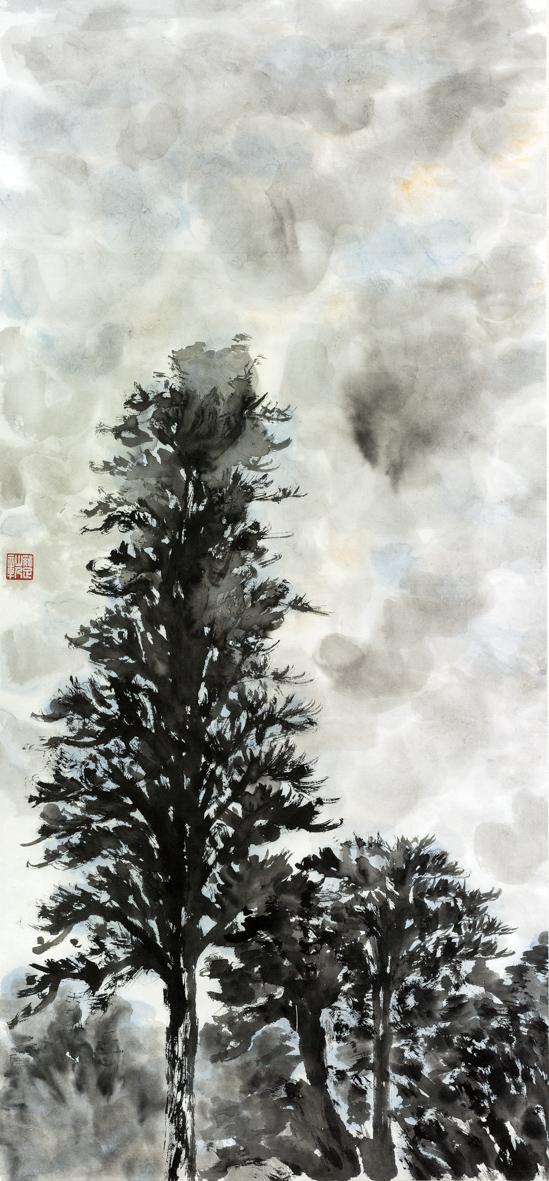 Cold Dew (Han Lu) 45cm×97cm