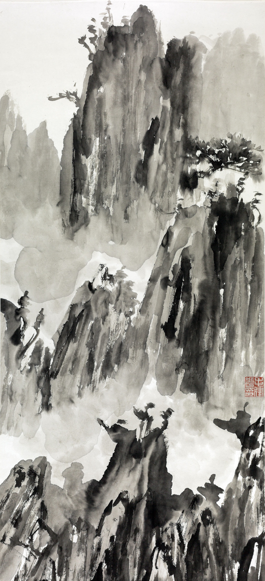 The Autumn Equinow (Qiu Fen) 45cm×97cm